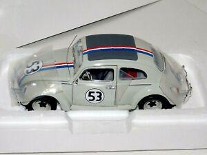 Volkswagen Scarabée Herbie N 53 1962 45th Anniversaire ELITE HOTWHEELS BCJ94