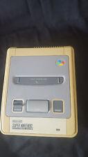 Nintendo SUPER NINTENDO SNES Console Unité Seulement défectueux et endommagé