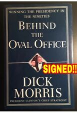 DICK MORRIS (President Clinton advisor) signed 1st edition book 1997 HC w/DJ