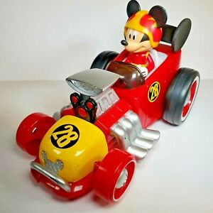 Disney Junior Mickey & The Roadster Racers RC Vehicle No Remote Kids Toys Race