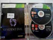 Xbox 360 Pal Game 2 disc RESIDENT EVIL 6  with Steel Box Manual capcom