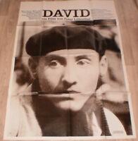 A0 Filmplakat  DAVID, v. PETER LILIENTHAL,MARIO FISCHEL, WALTER TAUB