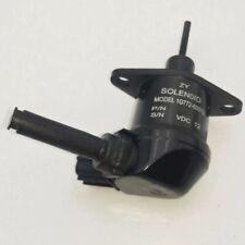 12V Fuel Shutoff Solenoid 1G772-60010 1G772-60012 for Kubota SVL75 M6040F V2607