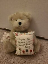 """New ListingBoyds Bears Mia Goodfriends """"Friends Are Flowers That Never Fade Away"""" Nwt"""