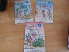 3 I Can Read ~ Beginning Reading 1 ~ Fancy Nancy Poison Ivy Museum Boy Paris