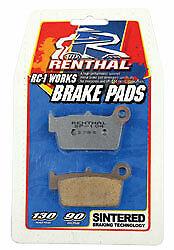 Renthal RC1 Works Brake Pads Rear BP-108