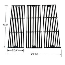 Chargriller 3001,3030,4000,5050 Porcelain Coated Cast Iron grates JGX051-3pk