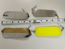 New listing 4 Lure Lot Luhr Jensen # 000 Moocher Dodger Fly Flasher Salmon Fishing Trolling