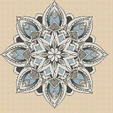 Azul Mandela Punto de Cruz Kit Completo #6-420jj/2b