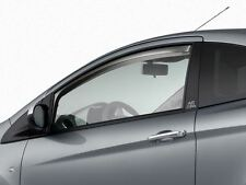 Genuine Ford Ka Wind Deflectors in Dark Grey - Front doors only (1595368)