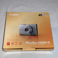 Canon Power Shot A4000 IS w/Charger, Battery and orig. CD w/manual