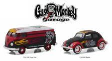 Greenlight 1/64 Gas Monkey Garage VW Volkswagen Panel Van & Beetle Set (51080)