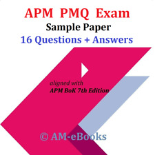 APM PMQ Project Management Qualification Exam Sample Paper + Answers BoK 7th Ed.