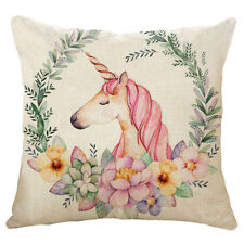 Meaningful Unicorn Cushion Cover Home Decorative Festival Gifts Throw Pillow�€New