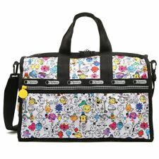 Lesportsac Japan Limited MR MEN LITTLE MISS Weekender Duffel Travel Bag Tote L