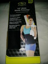 "Athletic Works 10"" Waist Trimmer Black.  X"
