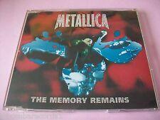 METALLICA - THE MEMORY REMAINS - CD SINGLE - PROMO
