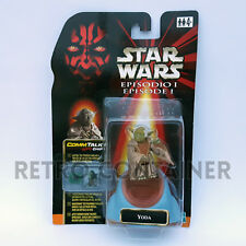 STAR WARS Kenner Hasbro Action Figure - EPISODE I - Yoda (Italian Card)