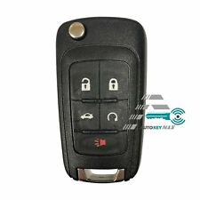 Replacement for Chevy Camaro Cruze Equinox Malibu Remote Key Fob 5b Shell Case