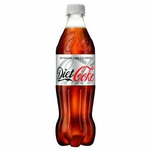 Coca-Cola Diet Coke 500ml Drink Bottle - Pack of 24 (100187)