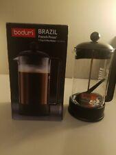 Bodum Brazil French Press Coffee Maker 34 Ounce 1 Liter (8 Cup)  Black