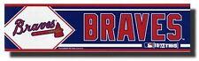 Atlanta Braves MLB Bumper Sticker