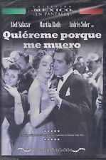 DVD - Quiereme Porque Me Muero NEW Coleccion Mexico En Pantalla FAST SHIPPING !