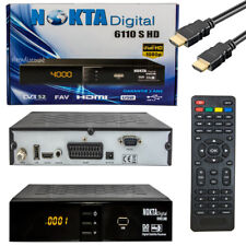Televisión Satelital-receptor FULL HDTV dvb-s2 1080p USB HDMI Nokta 6110 sat reseiver