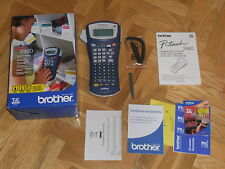 IMPRESORA DE ETIQUETAS BROTHER P-TOUCH 2460, EN CAJA Y EN PERFECTO ESTADO-(2).