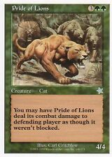 Pride of Lions | ex | STARTER 1999 | Magic MTG