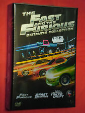 DVD FILM COFANETTO- FAST AND THE FURIOUS-ultimate collection-CON 3 DVD-SIGILLATO
