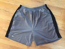 Mens Nike Dri Fit Athletic Shorts Black on Gray Xl Nwot