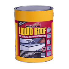 EVERBUILD AQUASEAL LIQUID ROOF ROOFING REPAIR & WATERPROOFER GREY 7KG