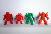 Bear, Boar, Buffalo, Lion Cyborgs, 4 Russian Plastic Battle Beasts, Tehnolog