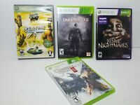 Lot Of (4 )- Xbox 360 games dark souls rise of nightmares saint row 2 D siege 3