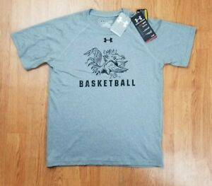USC Gamecocks Basketball Under Armour T-Shirt Sz Youth L