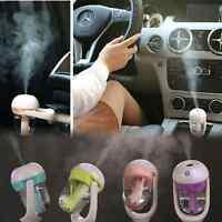 Portable Mini Car Freshener Essential Oil Diffuser Air Humidifier Purifier  Zp