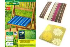 4 x Sitzkissen Sitzauflage Stuhlkissen Dekokissen Gartenstuhl Garten Terrasse