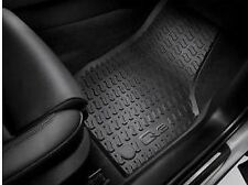 Audi Q3 2012-2018 Front & Rear black rubber floor mat set Genuine Audi Accessory