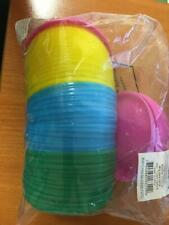 Birthday party Game toy Gift Picnic Mini Flying Disc Saucer Assorted Colour 72pc