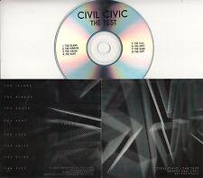 CIVIL CIVIC The Test 2016 UK 8-trk promo test CD