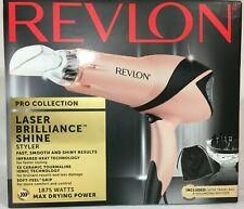 Revlon Pro Collection Laser Brilliance Shine Styler Hair Dryer Pink