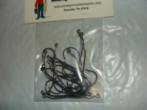 MATZUO Wide Gap Jig Hook - 30 Degree - Black/Chrome - Size 6/0 - 25 per package