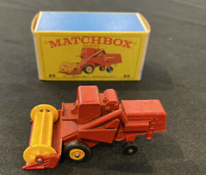 Matchbox, Rare Lesney Product, 65 Claas Combine Harvester, Great Condition