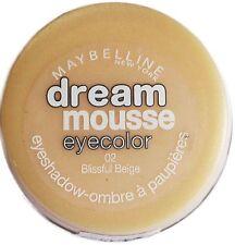 Sombra De Ojos Maybelline Dream Mousse Eyecolor 02 feliz Beige Crema Sombra de ojos