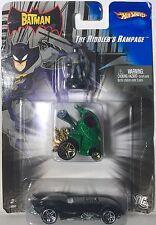 3 HOT WHEELS BATMAN VS. MR. FREEZE, RIDDLERS RAMPAGE & BATMAN BEGINS BATMOBILE
