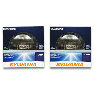 Sylvania SilverStar High Beam Low Beam Headlight Bulb for Dodge Ramcharger be