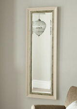 John lewis Orabelle Wall Mirror Bevelled Glass Ivory / Antique silver 132x43cm