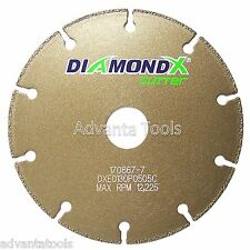"5"" Metal Cutting Diamond Blade Cut-Off Wheel - Type 1 for Angle Grinders"