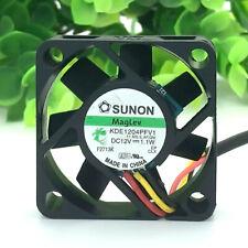 SUNON DC12V 1.1W KDE1204PFV1 Fans Cooling Fans Heat Sinks CPU 2PIN 40*40*10mm